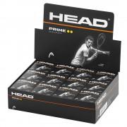 Bola de Squash Head Prime - Caixa com 12 Unidades