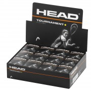 Bola de Squash Head Tournament - Caixa 12 Unidades