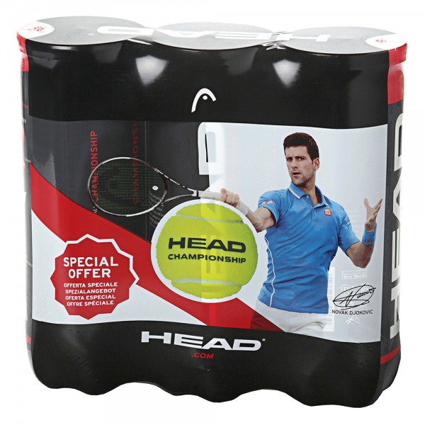 7ac186a6f Tripack Bola Head Championship - 3B - Oficina do Tenista