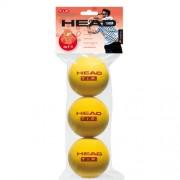 Bola de Tênis Head TIP Espuma Vermelha - 3 Bolas