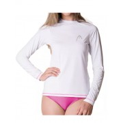 Camiseta Head UV Line Feminina - Branca