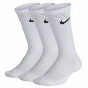 Meia Nike Infantil Cano Alto Branca - 3 pares 29 a 34