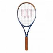 Raquete de Tênis Wilson Clash 100 Roland Garros - Edição Limitada