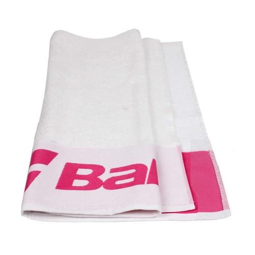 Toalha Babolat - Branca e Rosa