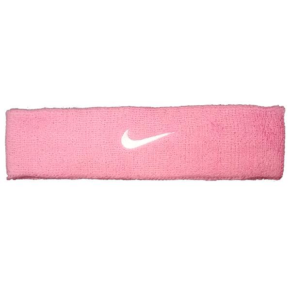 Testeira Nike Swoosh - Rosa e Branca