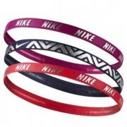 Faixa de Cabelo Nike - Vermelho Marinho e Roxo