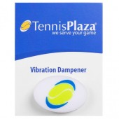 Antivibrador Tennis Plaza - Branco