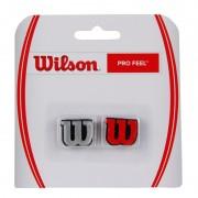 Antivibrador Wilson Profeel - Vermelho e Prata