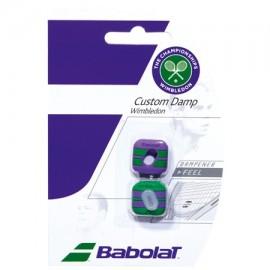 Antivibrador Babolat Custom Damp Wimbledon - 2Unds