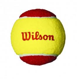 Bola de Tênis Wilson Starter Vermelha - 3 Bolas