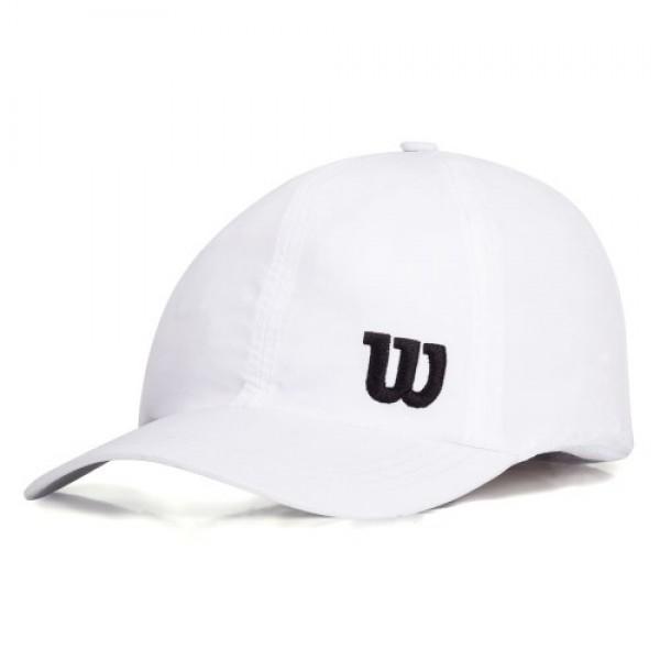 4ffc2997e5123 Boné Wilson Basic - Branco - Oficina do Tenista