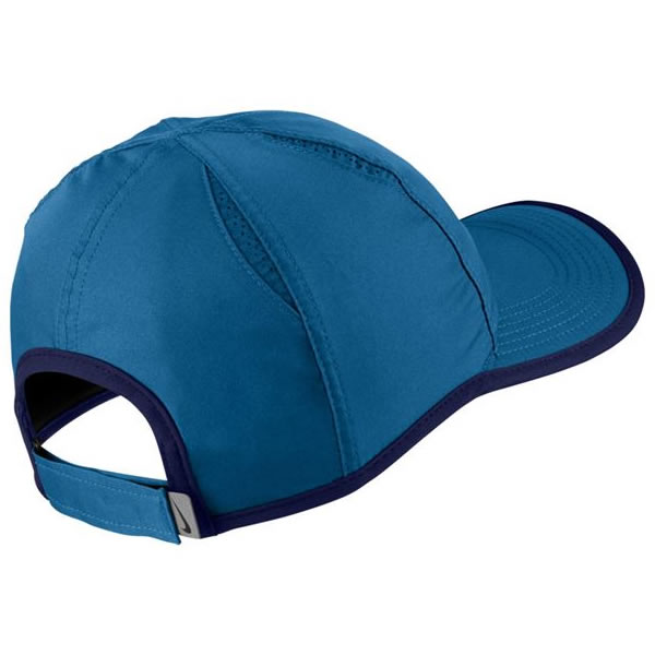 736dc30bb7b1b Boné Nike Feather Light - Azul - Oficina do Tenista