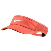 Viseira Nike Feminina Aerobil Feather Light - Laranja