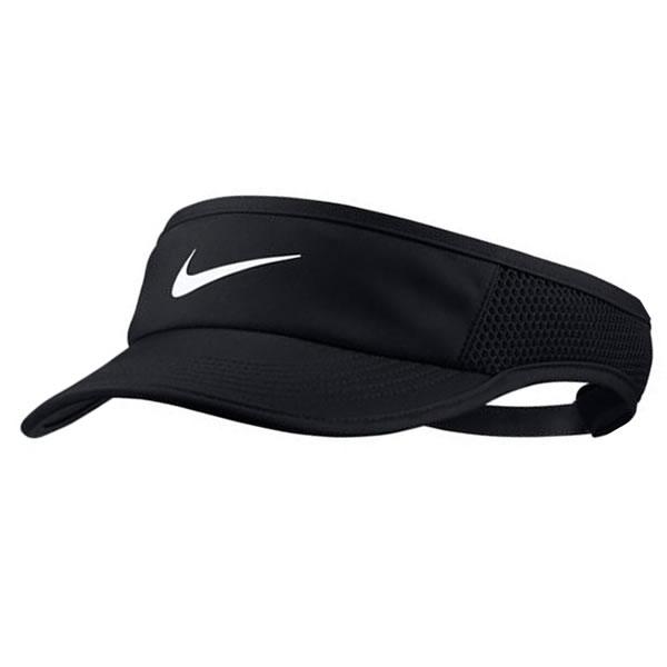 Viseira Nike Feather Light - Preta - Oficina do Tenista 948b96baf97