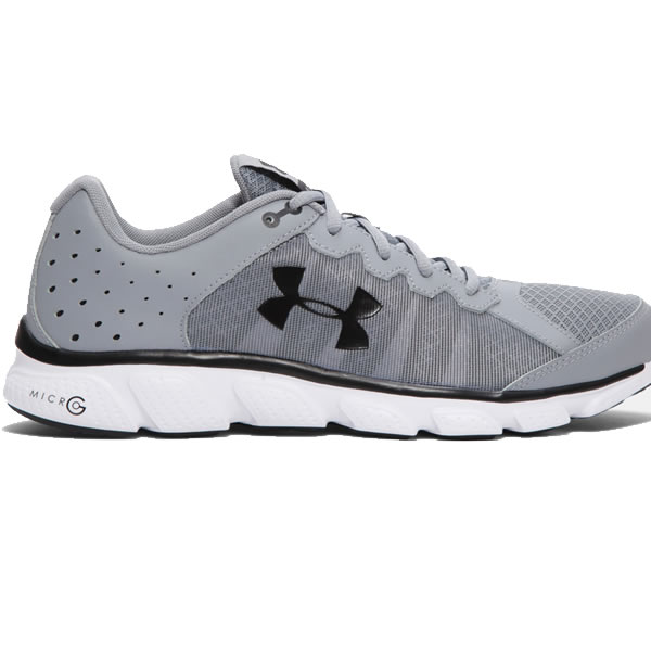 c92943a070 Tênis Under Armour Micro G Assert 6 - Cinza - Oficina do Tenista
