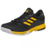 Tênis Adidas Barricade Court - Preto e Amarelo