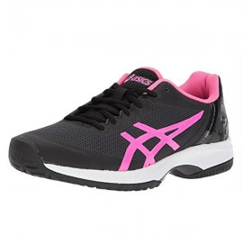 Tênis Asics Gel Court Speed - Preto e Rosa