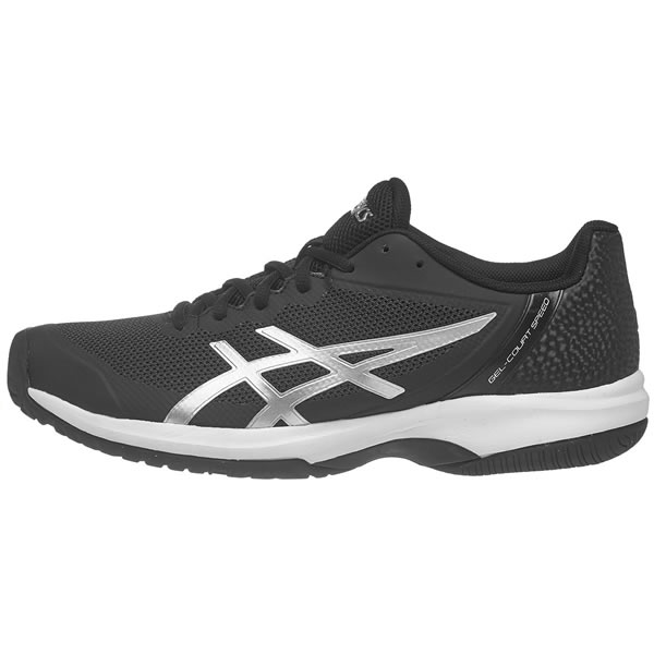Tênis Asics Gel Court Speed - Preto e Prata - Oficina do Tenista 877d6fc62fd6f