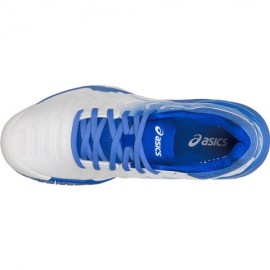 Tênis Asics Gel Resolution 7 - Branco e Azul
