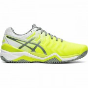 Tênis Asics Gel Resolution 7 Clay - Amarelo e Cinza