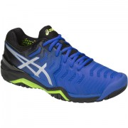 Tênis Asics Gel Resolution 7 - Azul e Prata