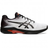 Tênis Asics Solution Speed FF  - Branco e Preto