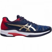 Tênis Asics Solution Speed FF Clay - Azul Marinho