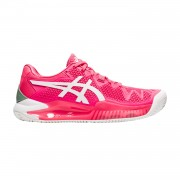 Tênis Asics Gel Resolution 8 Clay Feminino - Rosa Cameo/Branco