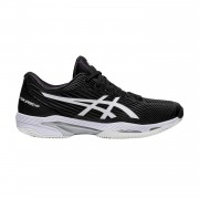 Tênis Asics Solution Speed FF 2 Clay - Preto e Branco