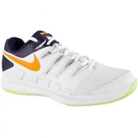 Tênis Nike Air Zoom Vapor X HC - Branco e Laranja
