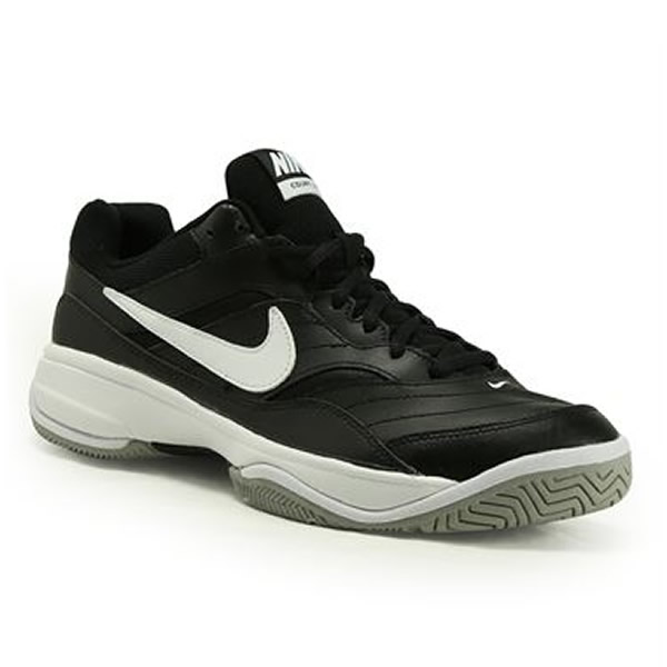 5d53cf16adf73 Tênis Nike Court Lite - Preto e Branco - Oficina do Tenista