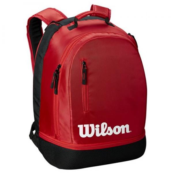 866fd5a248 Mochila Wilson Team - Vermelha - Oficina do Tenista