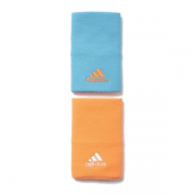 Munhequeira Adidas Laranja e Azul - 2Und