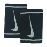 Munhequeira Nike Grande Preta e Cinza - 2Und