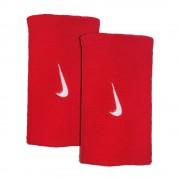 Munhequeira Nike Swoosh Grande Vermelha - 2Und