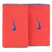 Munhequeira Nike Dri-Fit Dupla Face Azul e Laranja - 2Und