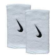 Munhequeira Nike Swoosh Grande Branca- 2Und