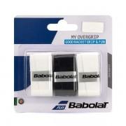 Overgrip Babolat My Grip - 3Und - Preto/Branco