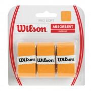Overgrip Wilson Pro Soft Laranja - 3Und
