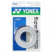Overgrip Yonex Super Grap Branco - 3Unid
