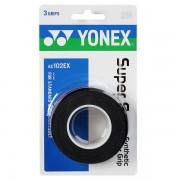 Overgrip Yonex Super Grap Preto - 3Unid