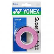 Overgrip Yonex Super Grap Rosa - 3Unid