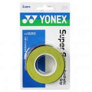 Overgrip Yonex Super Grap Verde - 3Unid