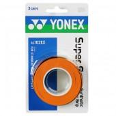 Overgrip Yonex Super Grap Laranja - 3Unid
