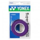 Overgrip Yonex Super Grap Roxo - 3Unid