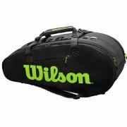 Raqueteira Wilson Super Tour - Preta