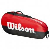Raqueteira Wilson Team X3 New - Vemelha