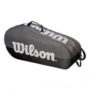 Raqueteira Wilson Team X6 New - Cinza