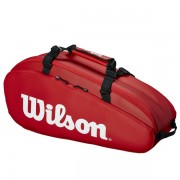 Raqueteira Wilson Tour X9 Tour - Vemelha