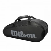 Raqueteira Wilson Tour X6 - Preta